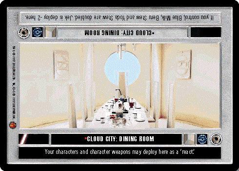 Slip Sliding Away Star Wars CCG Cloud City