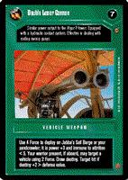 Star Wars CCG (SWCCG) Double Laser Cannon