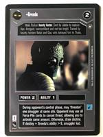 Decipher SWCCG Star Wars CCG Greedo (WB)