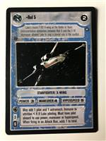 Decipher SWCCG Star Wars CCG Red 5 (WB)