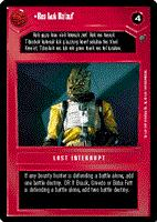 Decipher SWCCG Star Wars CCG Res Luk Ra'auf (WB)