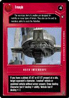 Decipher SWCCG Star Wars CCG Trample (WB)