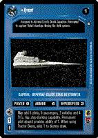 Decipher SWCCG Star Wars CCG Tyrant (WB)