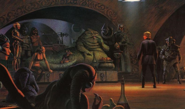 Star Wars CCG (SWCCG) Jabba's Palace! (Theme Deck)