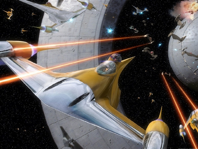 Battle For Naboo - Space!