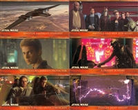 Topps 2002 Widevision Attack of the Clones -Complete 80 Card Set