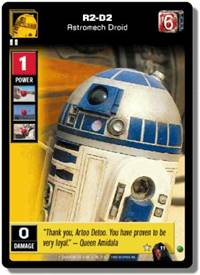 Star Wars Young Jedi CCG Menace of Darth Maul R2-D2, Astromech Droid # 11