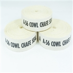 "1/16-inch Thick Cotton Webbing Cowl Chafe Seal - 1"" x 15' 