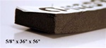 "CT-11809 5/8"" Aluminum Backed Sound Proofing"