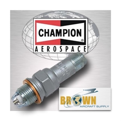 Replace Model RHM38EE Champion Brand Airplane Spark Plug | Brown Aircraft Supply