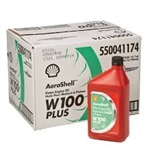 Aero Shell W100 Motor Oil Case