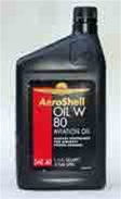 Aero Shell W80 Motor Oil for Aircraft | Brown Aircraft Supply