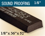 "T-45903-1/8 1/8"" Thick Sound Proofing"