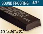"T-45093-5/8 5/8"" Thick Sound Proofing"