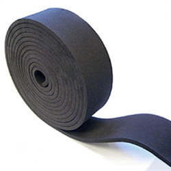"T-7251-1/4-R Neoprene Rubber Roll 1/4"" x 2"" x 20FT"