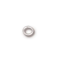 20 Gauge 3x4mm Oval Jump Rings
