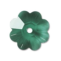 Swarovski Margarita Flower - 10mm Emerald