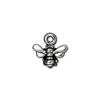 TierraCast Small Honeybee Charm
