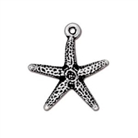 TierraCast Sea Star Charm