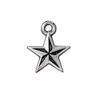 TierraCast Nautical Star Charm
