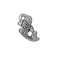 TierraCast Koi Fish Charm
