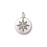 TierraCast Mini North Star Charm