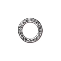 TierraCast Medium Hammertone Ring 13 mm
