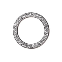 TierraCast Large Hammertone Ring 18.8mm