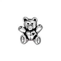 Tierra Cast Teddy Bear Bead