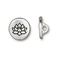 TierraCast Small Lotus Button