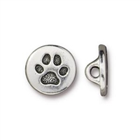 TierraCast Small Paw Button