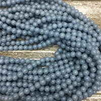 8mm Angelite Strands