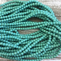 6mm Magnesite Strands - Light Sea Green