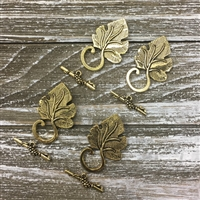 Antique Gold Leaf Toggle