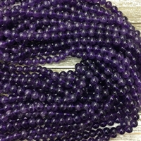 8mm Amethyst Strands