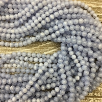 6mm Blue Lace Agate Strands
