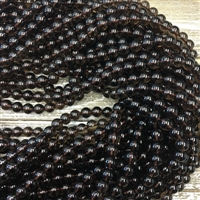 8mm Black Onyx Strands