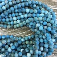 8mm Matte Apatite Strands