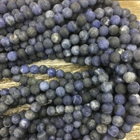 8mm Matte Sodalite Strands