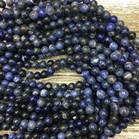 8mm Sodalite Strands