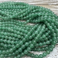 8mm Green Aventurine Strands