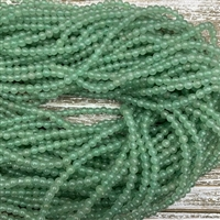 4mm Green Aventurine Strands