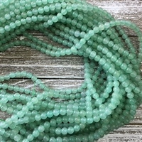 6mm Green Aventurine Strands