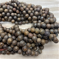 8mm Matte Bronzite Strands