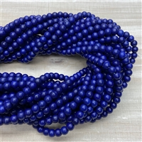 6mm Magnesite Strands - Medium Blue