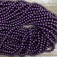 6mm Glass Pearl Strands