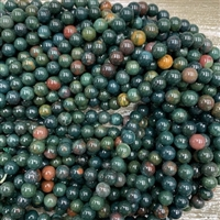 8mm Bloodstone Strands