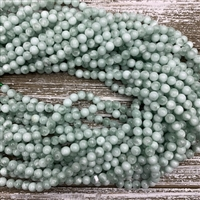 6mm Green Angelite Strands