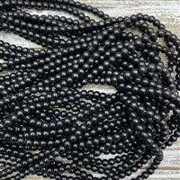 6mm Magnesite Strands - Black