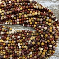 6mm Mookaite Strands